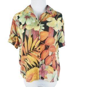 Vintage Braemar Jeremy Scott 80s Floral Top